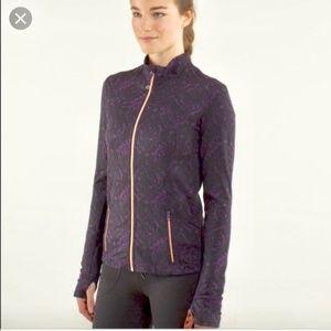 Lululemon Rose Gold Purple Define Jacket Size 4